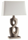 Sculptural Shaped Base Table Lamp