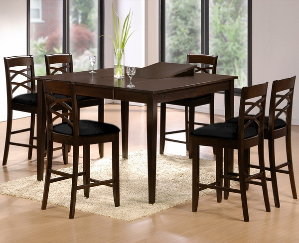 Simone 5-Pc Counter Height Dining Set