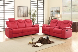Talbot Red Reclining Set