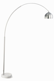 Sleek Metal Floor Lamp