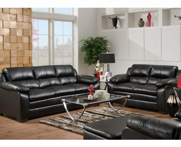 Soho onyx sofa set furniture 4 less dallas for Furniture 4 less dallas tx