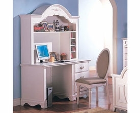 Sophie Traditional Computer Desk & Hutch