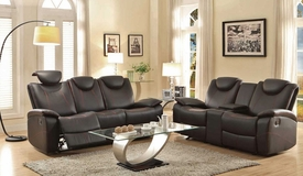 Talbot Black Recliner Set