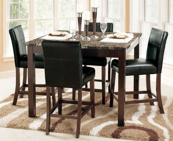 Stonebriar 5-Pc Counter Height Dining Set