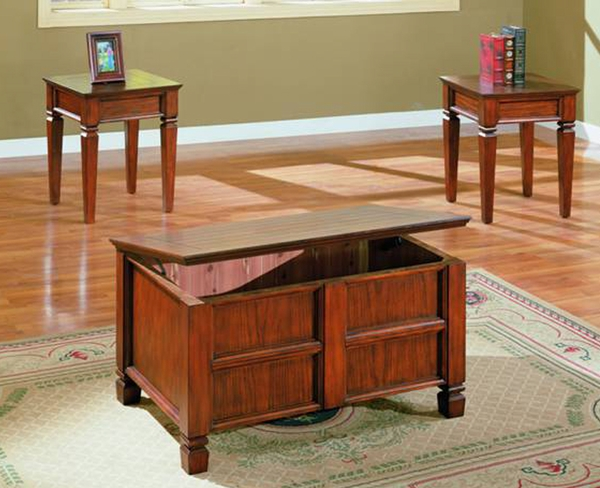 Storage 3 Pc Coffee Table Set