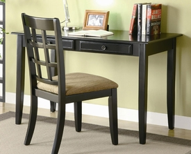 Table Desk with Two Drawers & Desk Chair