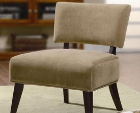 Tan Accent Upholstered Side Chair