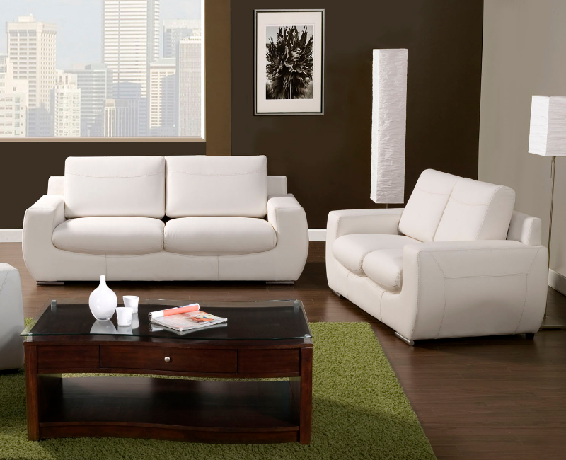 Tekir modern 2 pc set by furniture of america sm6032set for Furniture 4 less dallas tx