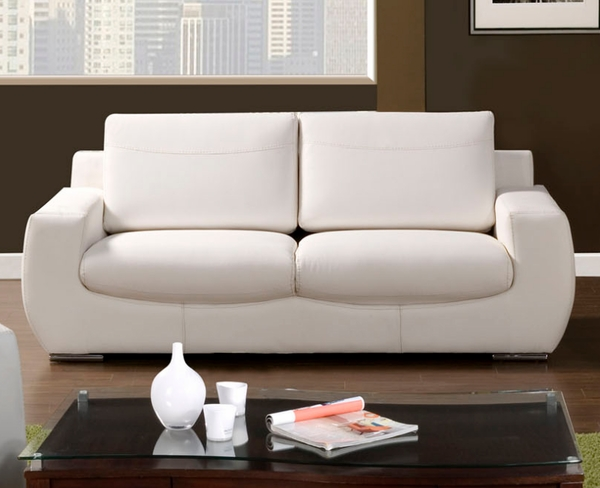 Tekir modern leather sofa by furniture of america sm6032 for Furniture of america dallas texas