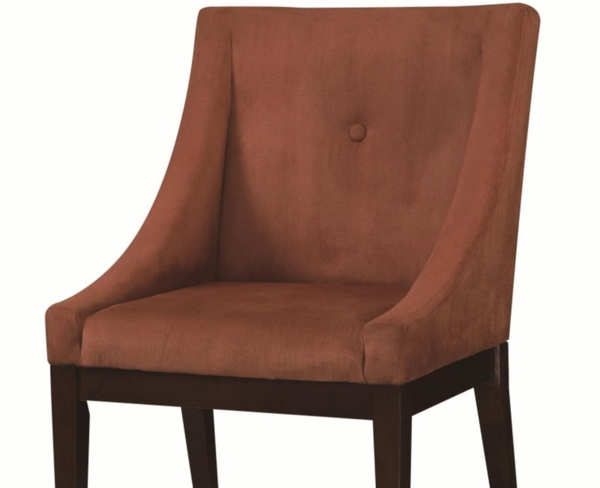 Terracotta Accent Seating Chair with Accent Button