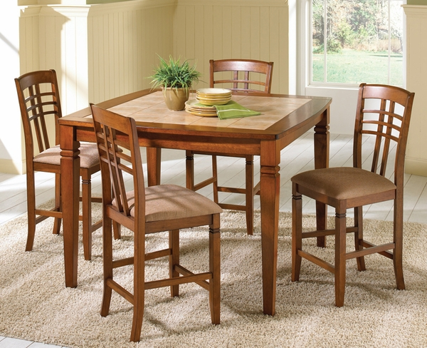 Toscana 5-Pc Counter Height Dining Set