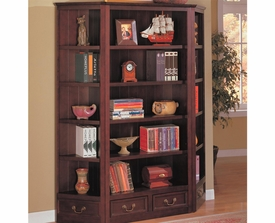 Traditional Bookcase and Corner Bookcases