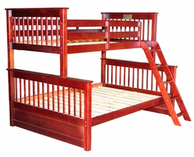 Twin/Full Mission Bunk Bed