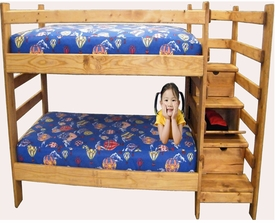Twin/Twin Bunkbed with Drawers