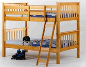Twin/Twin Mission Style Bunk Bed