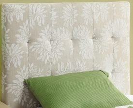 Twin Upholstered Headboard with Button Tufting