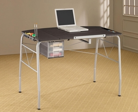Two-in-One Contemporary Computer & Drafting Desk