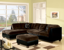 Ultra Plush / Bycast Sectional Sofa