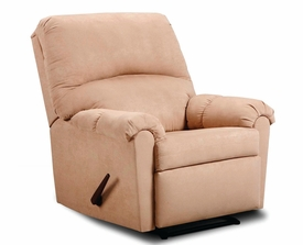 Victory Lane Taupe Recliner