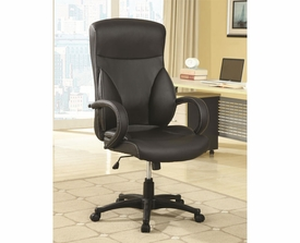 Vinyl Upholstered Executive Chair