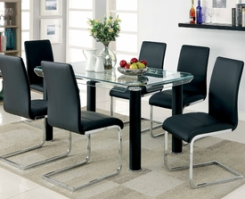 Glenham dining set by foa cm3175 dallas fort worth for Furniture of america dallas texas