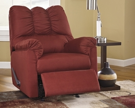 Darcy Red Recliner
