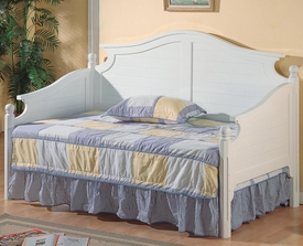 White Finish Twin Daybed