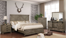 Bianca Gray Queen Bed