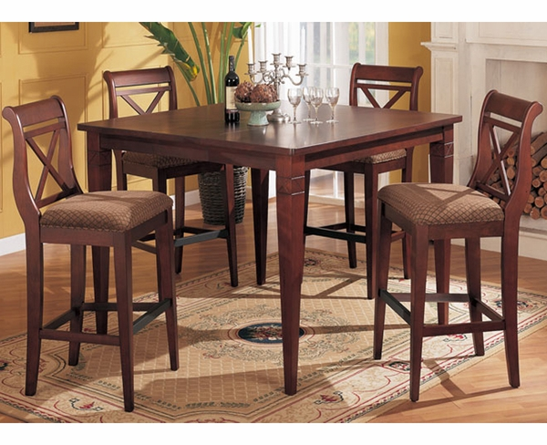 Whitney 5-Pc Bar Height Dining Set