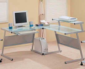 Wrightwood L-Shape Computer Desk