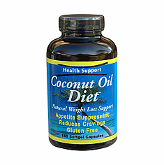 Coconut Oil Diet 180 softgels