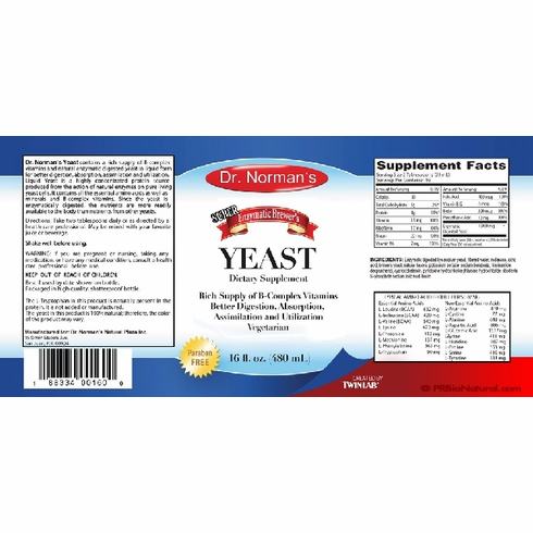 Dr. Norman's Enzymatic & Brewer's Yeast
