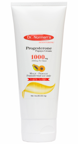 Dr. Norman's Progesterone 1000USP with Papaya
