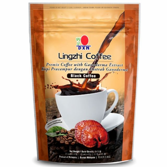 Lingzhi Coffee 2-1 with Ganoderma