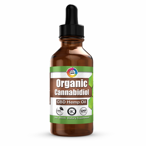 ORGANIC CANNABIDIOL CBD HEMP OIL 2 oz