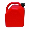 5GAL RED PLASTIC GAS CAN