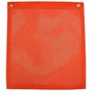 ORANGE 18x18 FLAG w/GRMMTS
