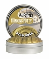 Crazy Aaron  Thinking Putty-Gold Rush 4""