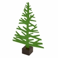 Alpine Tree Medium: Forest Green
