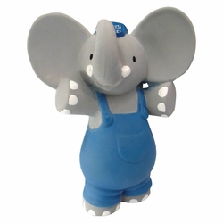 Alvin the Elephant Rubber Squeaker Toy