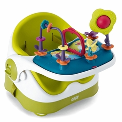 Baby Bud Booster Seat & Activity Tray - Lime
