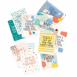 Baby Cards by Milestone: limited edition