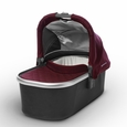 Bassinet for CRUZ and VISTA  -Dennison (Bordeaux/Silver)