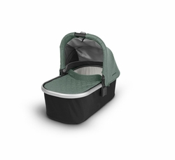 Bassinet for CRUZ and VISTA -Emmett( Green melange/Silver)