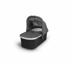 Bassinet for CRUZ and VISTA - Jordan(Charcoal Melange/Silver)
