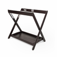 Bassinet Stand - Espresso COMPATIBLE WITH VISTA/CRUZ