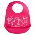 Bib: Kitties - Megenta