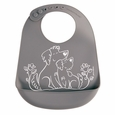 Bib: Puppy Love - Grey