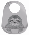 Bib: Sloth - Gray