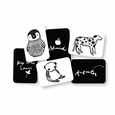 Black & White Collection - Art Cards for Baby